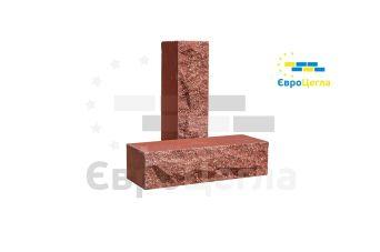 Облицовочный кирпич скала Євроцегла красный