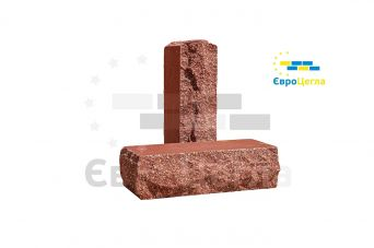 Облицовочный кирпич скала Євроцегла красный тычковой