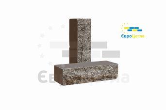 Облицовочный кирпич скала Євроцегла графит