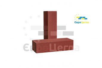 Облицовочный гладкий кирпич Євроцегла красный