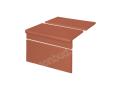 Клинкерные ступени King Klinker Римский комплект рифленый (01) Красный - изображение 1