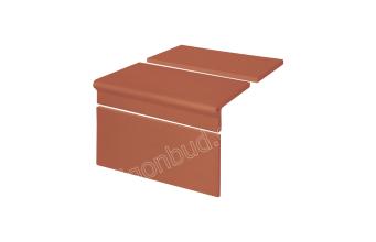 Клинкерные ступени King Klinker Римский комплект (01) Красный