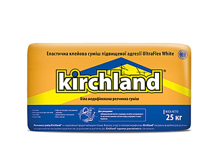 Клей для плитки Kirchland UltraFlex White (белый)