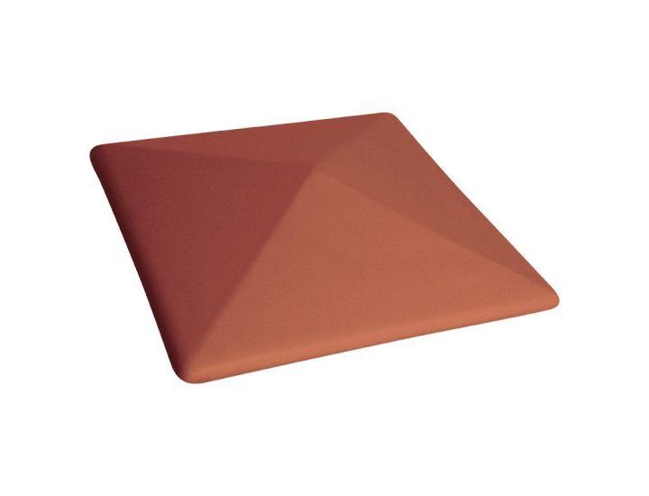 Крышка для забора керамическая King Klinker (01) Красная