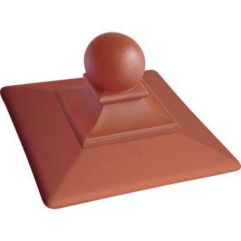 Крышка для забора керамическая King Klinker (01) Красная Royal