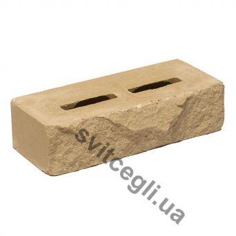 Лицевой кирпич Рубелэко Дикий камень пустотелый песчаник КСПА2