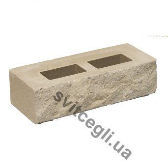 Лицевой кирпич Рубелэко Дикий камень пустотелый сталь КСПА1
