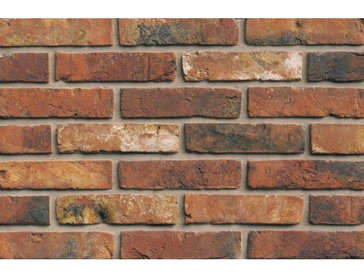 Фасадная плитка ручной формовки 312 Castello Rood