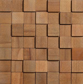 Деревянная панель Cube
