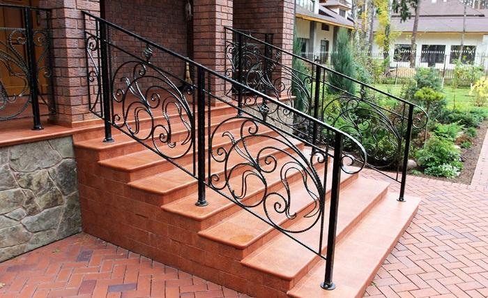Клинкерный кирпич, клинкерная лестница, ступени из клинкера