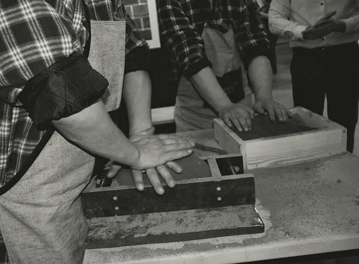 Плитка ручной формовки, характеристика плитки ручной формовки