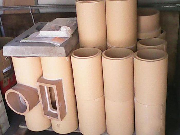Керамические трубы, керамические дымоходы