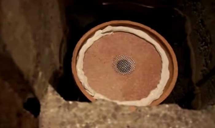Герметик, керамическая труба