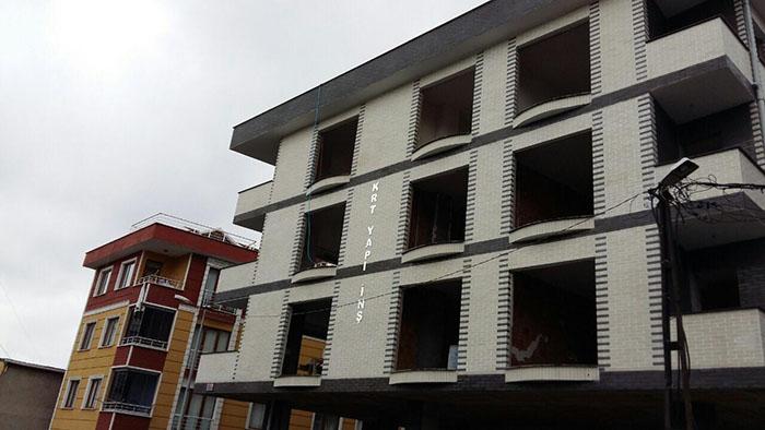 Фасад с кирпича Brick House