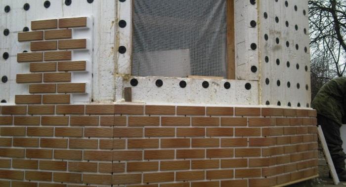 Отделка клинкерной плиткой на фасадах