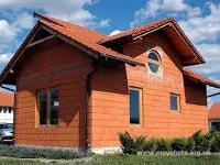 Дом из керамоблоков